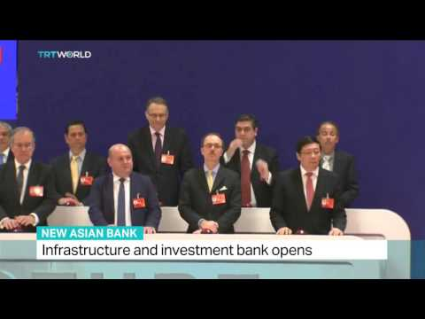 Michele Geraci Interview on TRTWorld about Asian Infrastructure and Investment Bank