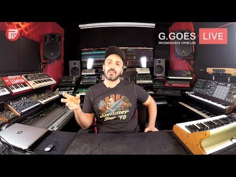 "G-Mohris Pres. ""G.GOES LIVE"" 009: Q&A Sessions"