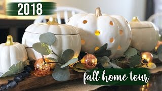 Fall Home Tour 2018 | Farmhouse Glam