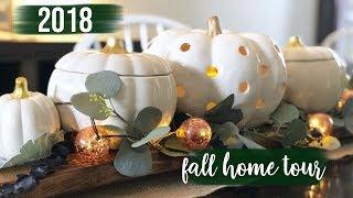 Fall Home Tour 2018 | Farmhouse Glam