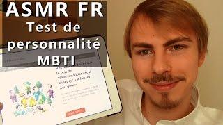 ASMR FR - Test de personnalité MBTI - Whispering