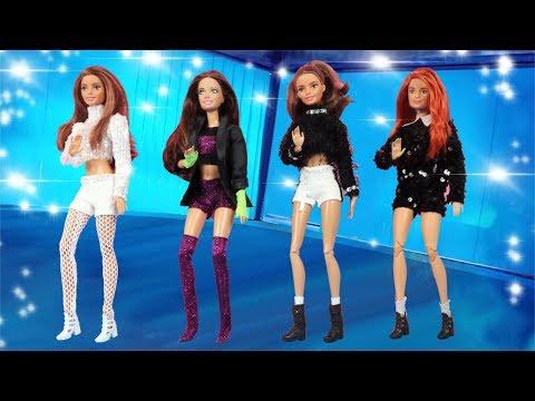 DIY BLACKPINK Barbie Clothes Hacks