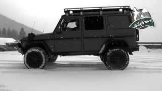 Wolftrucks ALPHA based on the Mercedes G with 4 Portals