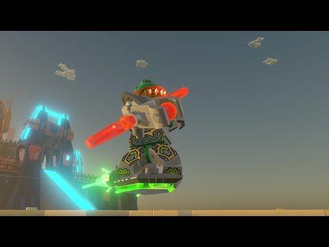 LEGO Worlds - New LEGO Nexo Knights castle on my LEGO island