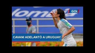 Gol de Edinson Cavani, hoy Colombia vs Uruguay, por Eliminatorias Sudamericanas