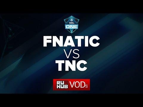 Fnatic -vs- TnC Gaming || ESL One Frankfurt Quals game 3