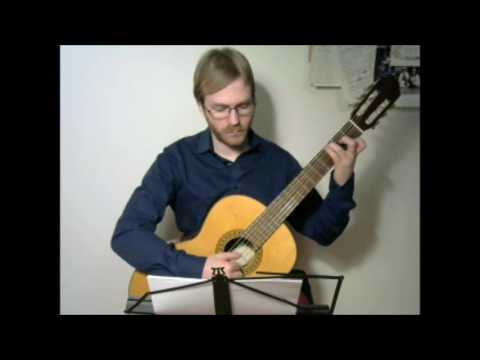 Broken Chords in C, G and D Major, 60bpm * 3, Classical Guitar