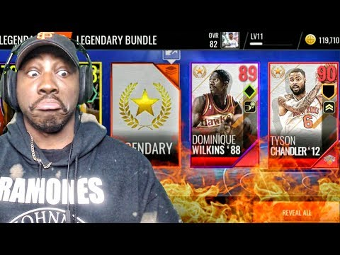 NEW ELITES IN LEGEND PACK OPENING! NBA Live Mobile 18 Gameplay Ep. 11