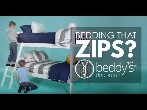 Our favorite bedding! Beddy's!