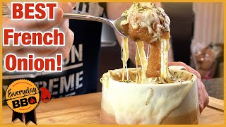 French Onion Soup Recipe | Slow Cooker Recipe | Best Homemade French Onion | Everyday BBQ