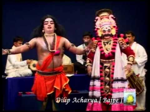 Yakshagana   sathish patla by Dilip