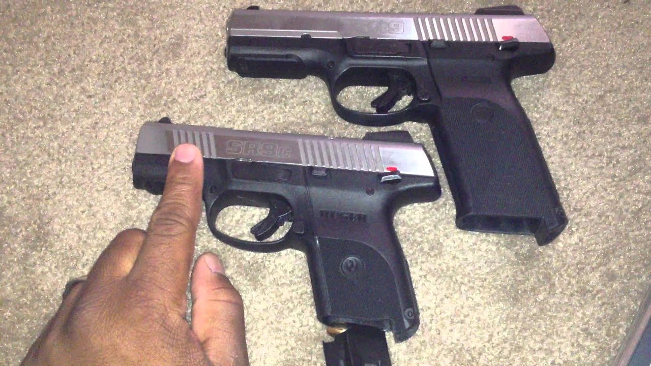 Ruger Sr9 And Sr9c