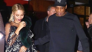 "Beyonce ""Pregnant With Twins Jay-Z Is So Happy"""
