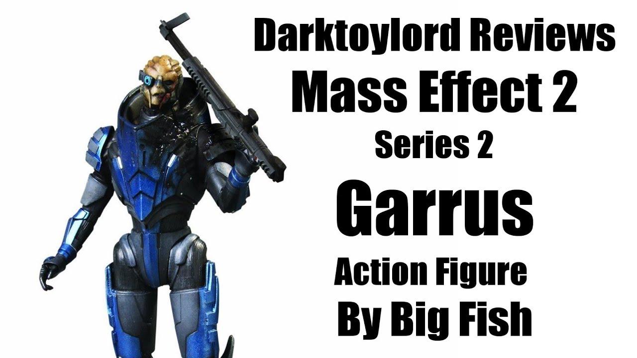 darktoylord reviews mass effect 2 series 2 garrus action figure by