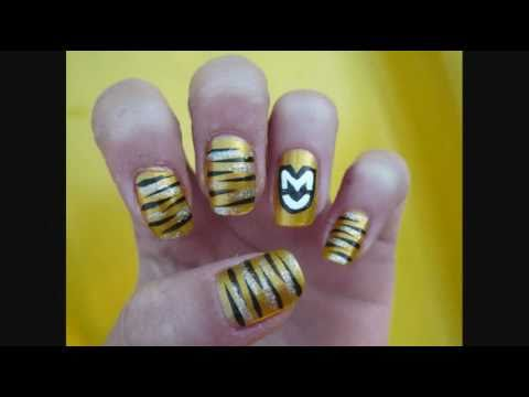 College Series University Of Missouri Nail Design