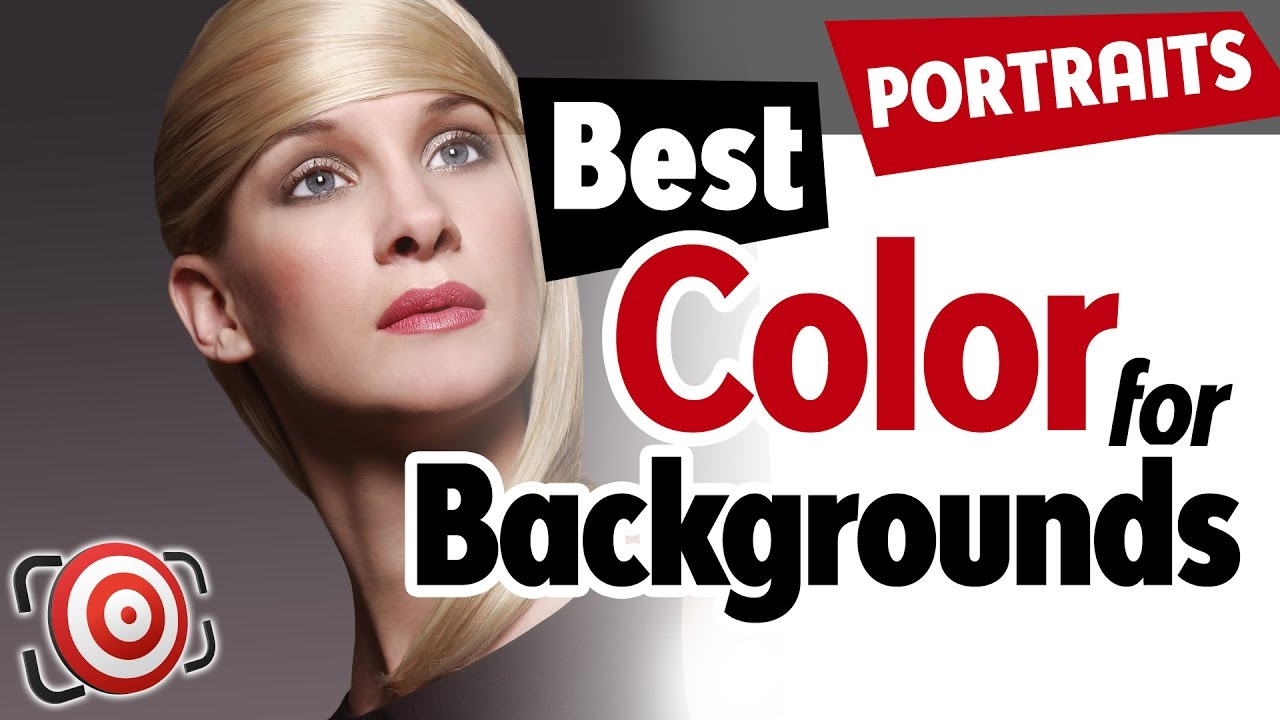 The Best Color Photography Background For Portraits Is Gray - Studio ...