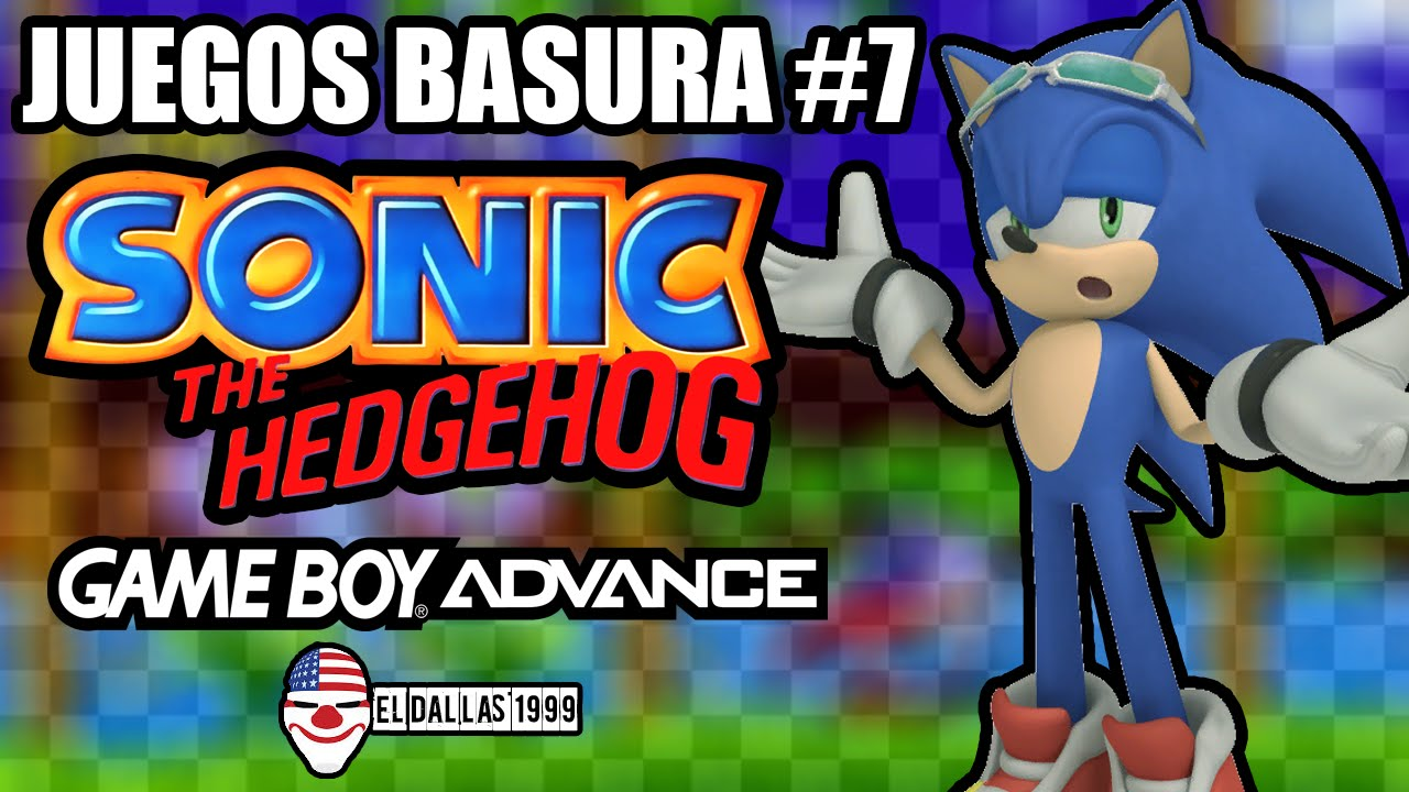 Juegos Basura Sonic The Hedgehog Genesis Game Boy Advance