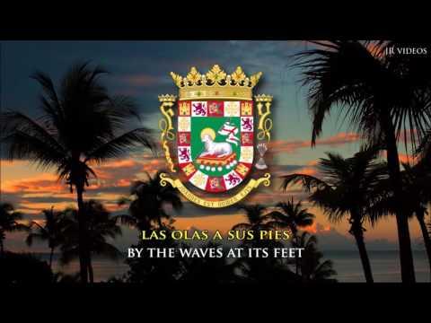 National Anthem of Puerto Rico (ES/EN lyrics) - Himno Nacional de Puerto Rico