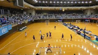 富岡 - 市川 [前半]2019年2月2日(土)第31回関東高校ハンドボール選抜大会
