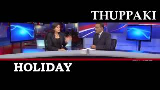 Holiday Hindi movie 2014 Trailer Akshay kumar vs Thuppaki ORIGINAL Trailer Side by Side Compare