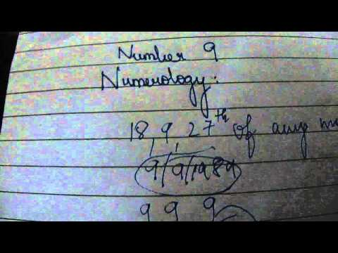 number 9 people in detail numerology