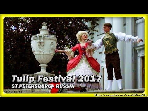 🔴 Tulip Festival on Elagin Island - Part 1 • ST. PETERSBURG | RUSSIA • TRAVEL • GUIDE