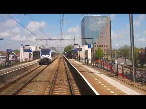 Cabinerit Van Rotterdam Naar Haarlem Via De Spoortunnel Delft En Leiden Centraal