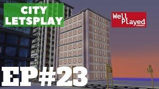 Minecraft Victorian Style Hotel! City Letsplay Ep23