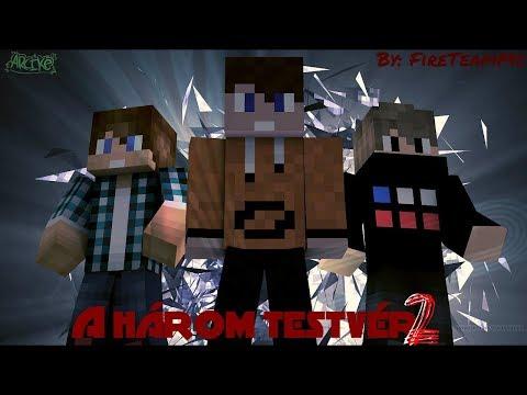 Magyar Minecraft Film - A Három Testvér 2