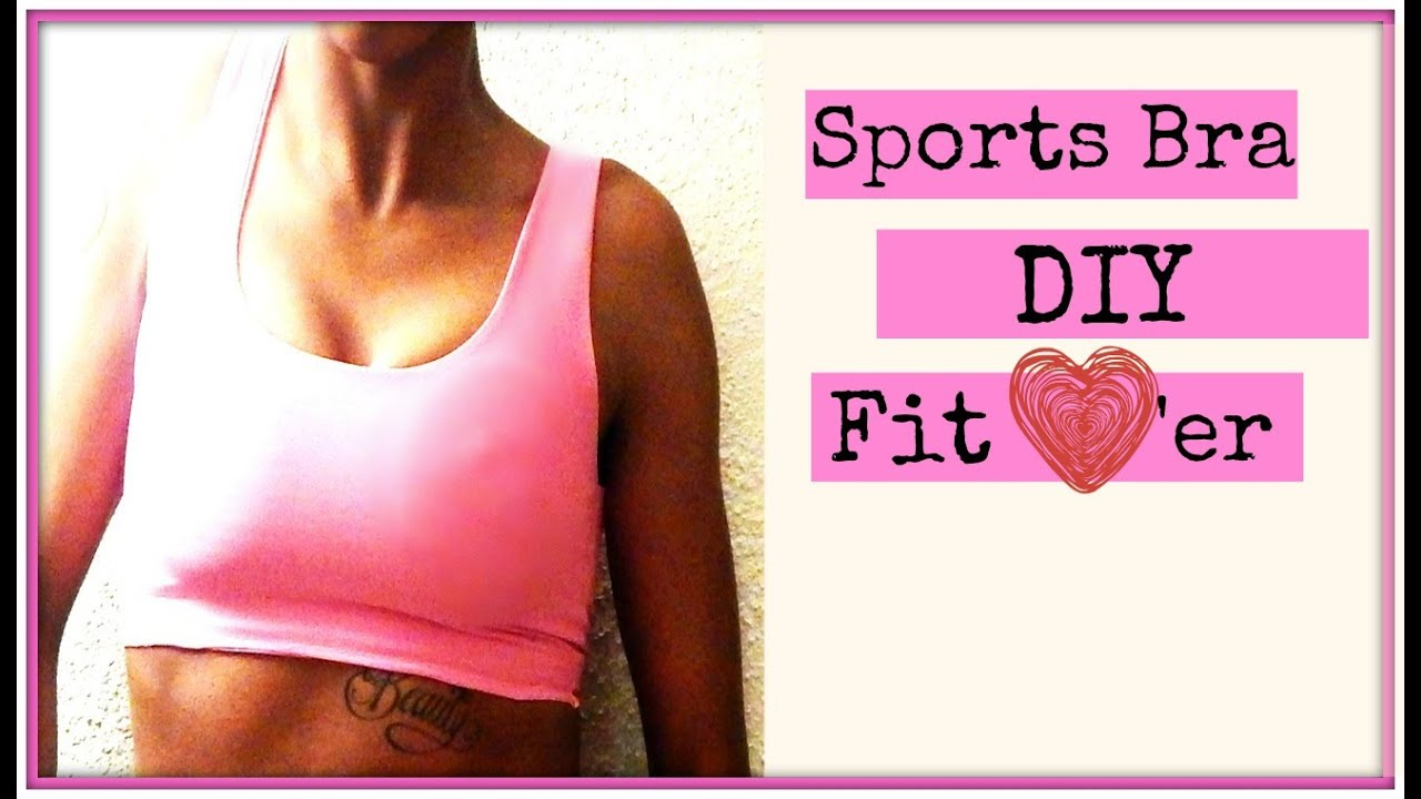 DIY Sports Bra I Easy Beginner Sewing - YouTube