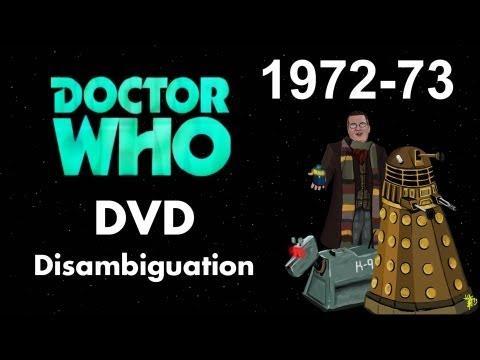 Doctor Who DVD Disambiguation - Season 10 (1972-73)