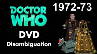 Doctor Who DVD Disambiguation - Season 10 (1972-73)