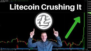Litecoin Rockets - BTC/ETH Congestion, Should be a CRAZY Crypto Weekend