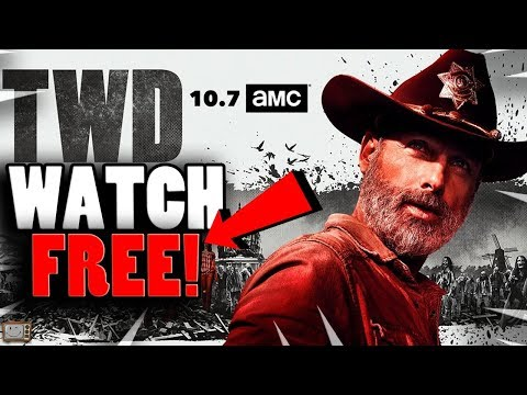 HOW TO WATCH THE WALKING DEAD SEASON 9 PREMIERE FOR FREE! Walking Dead S9 Episode 1 FREE STREAM!
