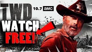 HOW TO WATCH THE WALKING DEAD SEASON 9 PREMIERE FOR FREE! Walking Dead S9 Episode 1 FREE STREAM!