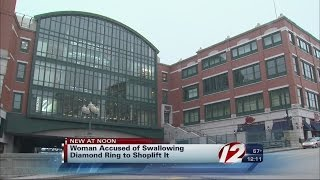 Woman Accused of Stealing Ring by Swallowing It