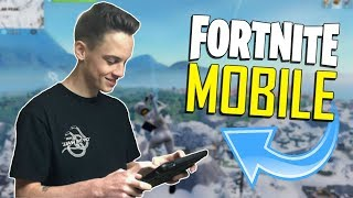 FAST MOBILE BUILDER on iOS / 820+ Wins / Fortnite Mobile + Tips & Tricks! thumbnail