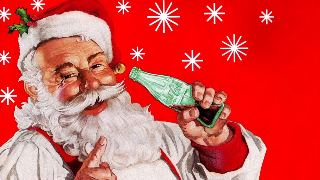 Image result for santa coca cola