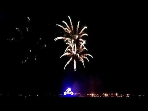 Fireworks @ Coors Field 7/3/17 Rockies Win!!!