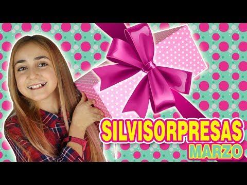 Silvi Sorpresas Marzo 2018 😍 Unboxing Caja Sorpresa 📦 con muchos regalos 🎁 - Silvia Sánchez