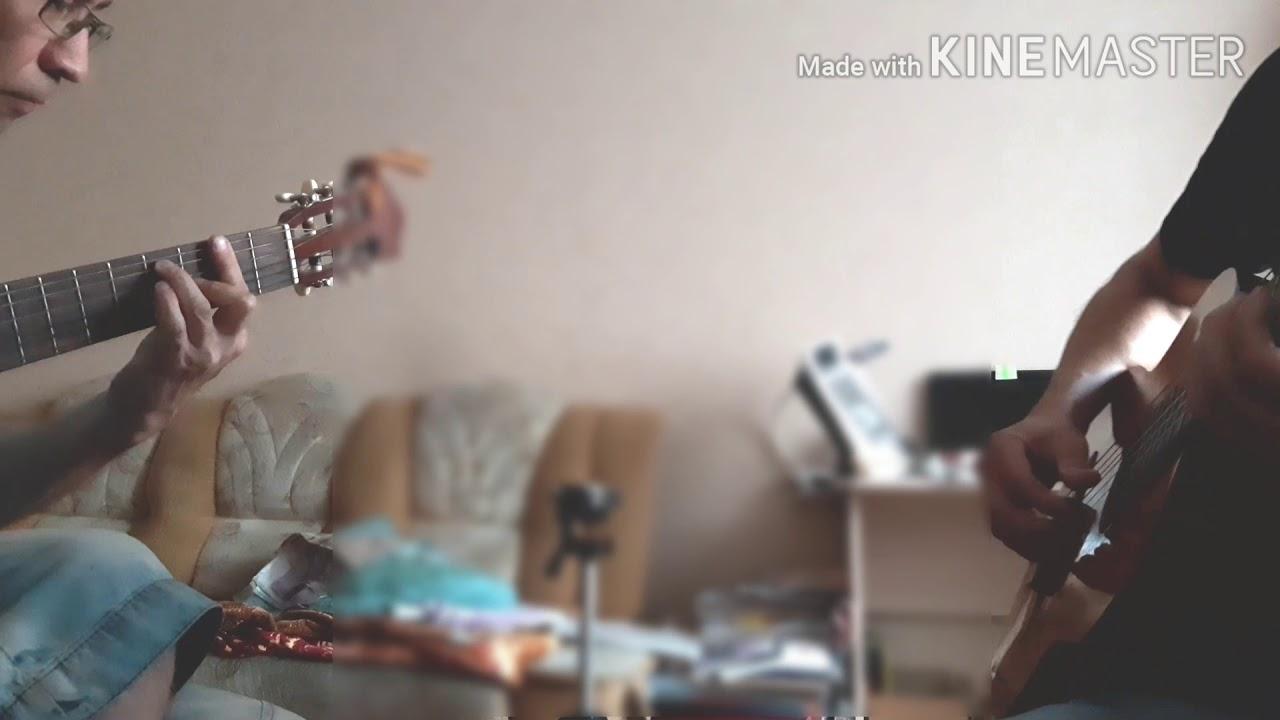 Обалденная музыка на двух гитарах