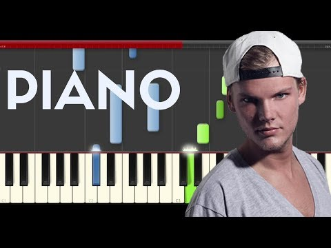 Avicii  Hey Brother  Piano tutorial Midi Karaoke Sheet Easy How to Play Cover