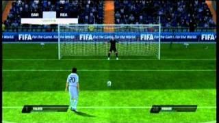 FIFA 11 - Draw 0-0, penalty kicking!   Xbox 360