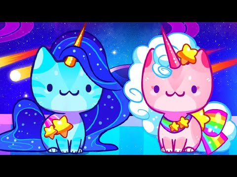 COSMIC UNICORNS FLOOR | CAT GAME COLLECTOR