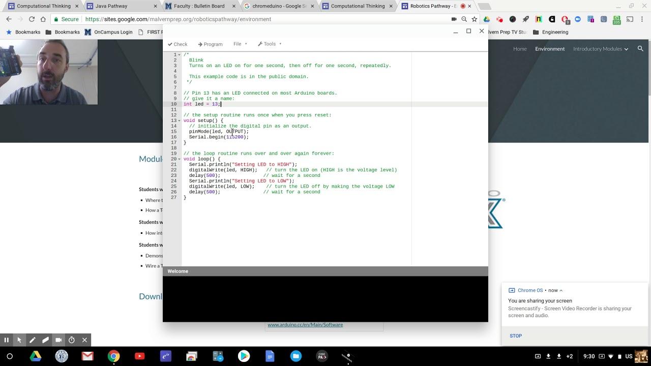 Talking to Arduino with Chromeduino