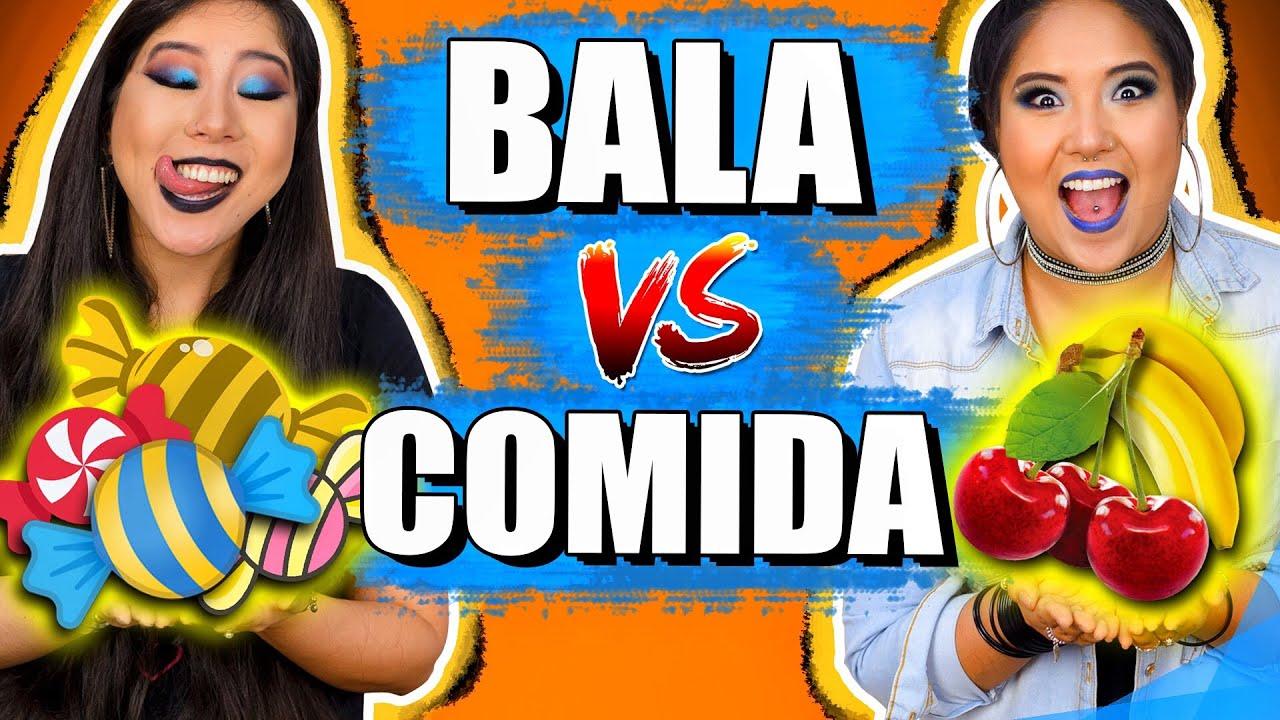 BALA VS COMIDA | Blog das irmãs