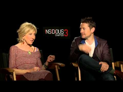 Insidious: Chapter 3: Director Leigh Whannell & Lin Shaye Official Movie Interview