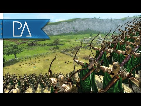 EPIC DEFENSE OF DUNHARROW - Third Age Total War Gameplay