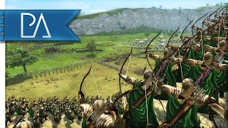 Repeat youtube video EPIC DEFENSE OF DUNHARROW - Third Age Total War Gameplay