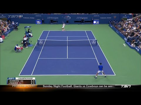 Djokovic vs Federer (2015 US Open) Final Highlights HD